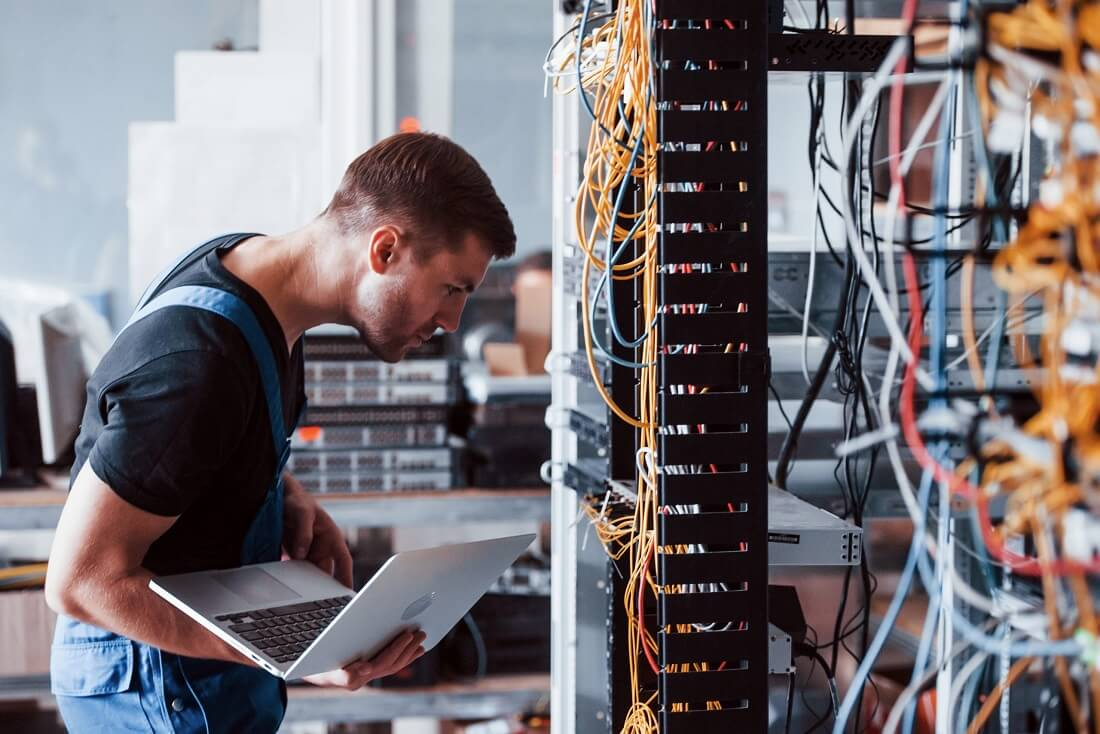 Solution de câblage - Technicien en télécommunication